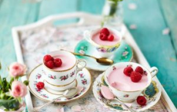 Mother's Day Raspberry Pann cotta Recipe