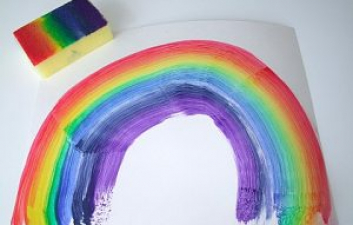 Create a Rainbow to Display in your Window
