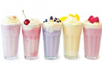 Create Your Own Ice Cream Milkshake