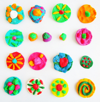 Homemade Play dough Recipe Fun For The Children To Make At Home On A Rainy Day