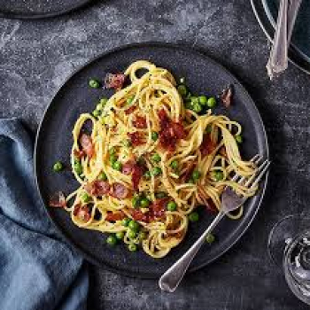 Bacon, Pea And Cheddar Pasta Recipe By M & S