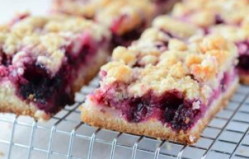 Blackberry Pie Squares Autumn Recipe