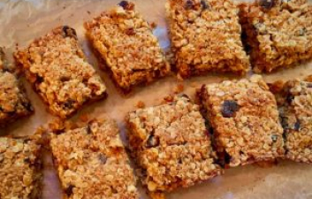 Homemade Fruit Flapjack Recipe