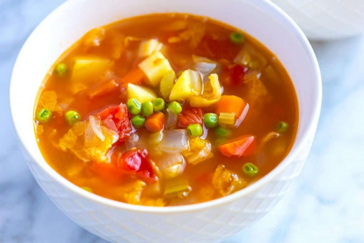 Homemade Vegetable Soup Recipe For Autumn