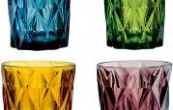 Top 5 Inspirational Ideas For Colourful Glass In The Kitchen