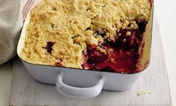 An Amazing Autumn Plum Crumble Recipe By Mary Berry