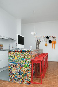 LEGO TABLE  BY PHILIPPE ROSETTI_ PARIS