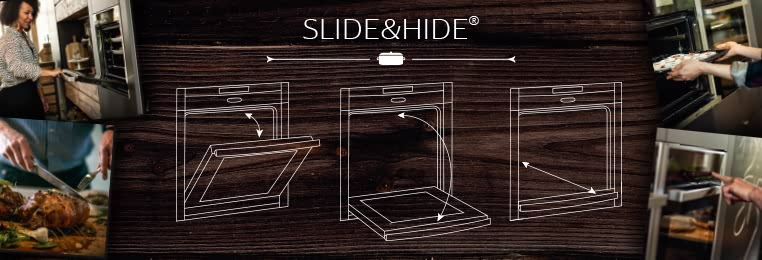 the neff slide hide single oven free with every new kitchen purchased from deelux deelux. Black Bedroom Furniture Sets. Home Design Ideas